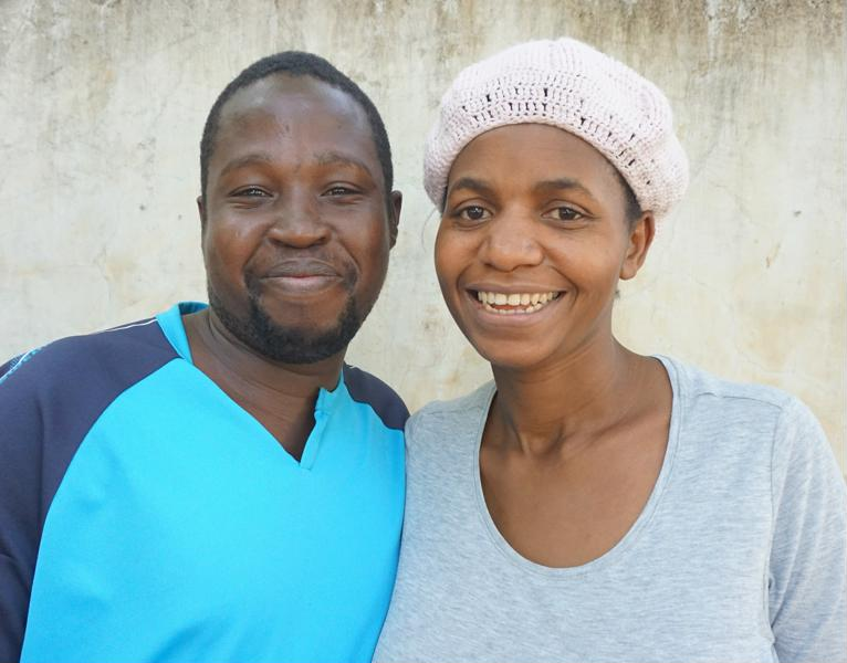 Operators of Hope Home - Sarah and Joseph;