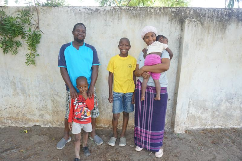 Hope Home - Sarah and Joseph with childrens David, Pastor and Maya